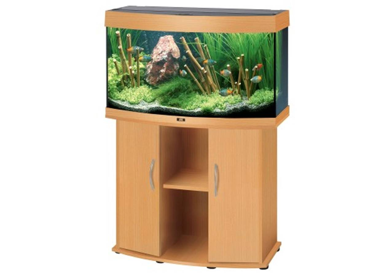 juwel aquarium cabinet vision 180 led light wood. Black Bedroom Furniture Sets. Home Design Ideas