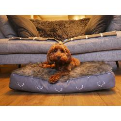 Wolf and Tiger Antler Hygge Mattress Dog Bed
