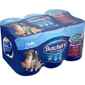 Butchers Gluten Free Wet Dog Food Tins - Rustic Feasts In Jelly (6 X 400g)