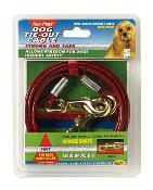 Four Paws Tie Out Cable Mediumweight 30 Foot
