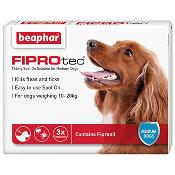 Beaphar Fiprotec Spot On Flea Removal and Prevention for Medium Dogs (10 - 20kg) - 3 Treatments