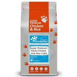 Pet Connection Super Premium Hypoallergenic Adult Dog Food - Chicken & Rice