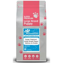 Pet Connection Super Premium Hypoallergenic Puppy Food (Large Breed) - Salmon & Potato
