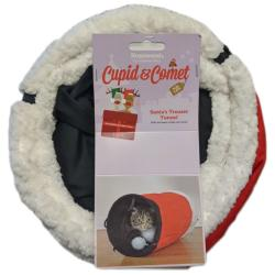 Rosewood Santa's Trousers Cat Tunnel