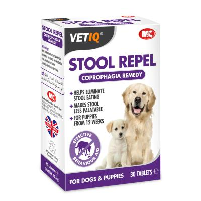 M&C Stool Repel-UM Deters Stool Eating For Dogs & Puppies (30 Tablets)