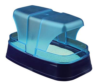 Trixie Sand Bath For Hamster And Mice Dark Blue/Turquois 17x10x10cm