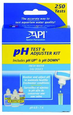 API Deluxe PH Liquid Test Kit, Fresh Water