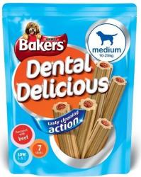 Bakers Dental Delicious Sticks (Medium - 7 Pack) Beef