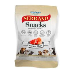 MANCHESTER & CHESHIRE DOGS HOME DONATION - Serrano Snacks Gluten Free Dog Treats - Serrano Ham 100g