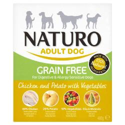 Naturo Wet Dog Food (Adult) - Chicken and Potato 400g