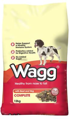Wagg Dog Food - Beef and Veg 12kg