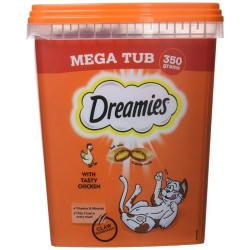 CLAWS Donation - Dreamies Cat Treats Mega Tub 350g