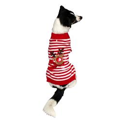 Armitage Pawsley Christmas Reindeer Dog Jumper