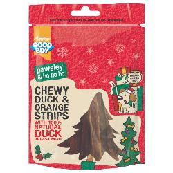 Armitage Pawsley Chewy Strips With Duck & Orange 100g
