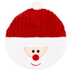 Armitage Disc O Squeak Santa Dog Toy 8""