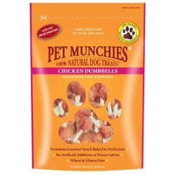 Pet Munchies Natural Chicken Dumbbells (80g)