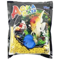 Aqua Base Sky Yellow Aquarium Gravel 1kg
