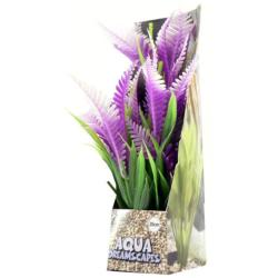 Cheeko Aqua Dreamscapes Aquatic Plant - Lilac Fern 20cm