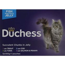 Duchess Fish In Jelly Variety Pack (12x100g)