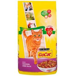 Go Cat Complete Dry Food Adult with Chicken and Duck 2kg