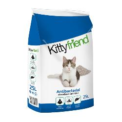 Sanicat Kittyfriend Antibacterial Non-Clumping Clay Cat Litter 25L