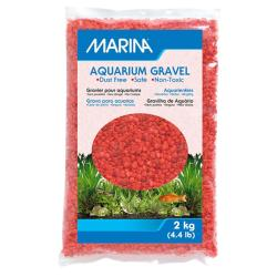 Marina Bright Orange Aquatic Gravel 2kg