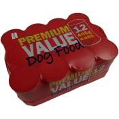Premium Value Canned Food For Working Dogs (12 x 400g)