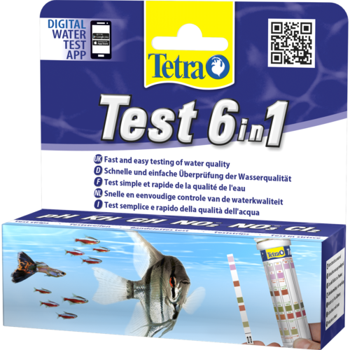 Tetra 6 In 1 General Aquarium Test Strips