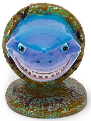 "Disney Finding Nemo Aquarium Ornament Bruce 2"" Mini"