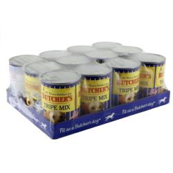 MANCHESTER & CHESHIRE DOGS HOME DONATION - Butchers Dog Food Tin - Fresh Tripe Mix (12 X 400g)