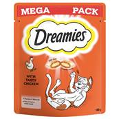 Dreamies Cat Treats Mega Pack - Chicken 180g