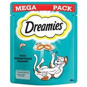 Dreamies Cat Treats Mega Pack - Salmon 180g