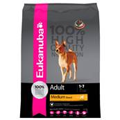 Eukanuba Dog Food for Medium Breed Dog (Adult) - Chicken 12kg