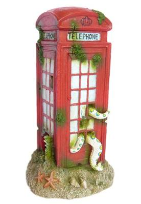 Betta Phone Box Aquatic Ornament Large (17x10x10cm)