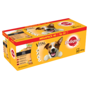 Pedigree Dog Pouches Mixed Selection In Gravy 40 For 32 X 100g