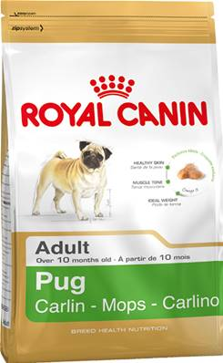 Royal Canin Dry Dog Food Breed Nutrition Pug Adult / 1.5kg