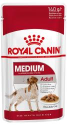 Royal Canin Wet Dog Food Medium Pouch (Adult) - 140g