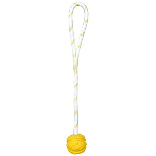 Natural Rubber Ball on Rope (Floating)
