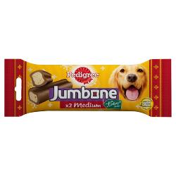 Pedigree Christmas Jumbone Treat for Medium Dogs Turkey