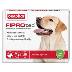 GREAT HOUNDS IN NEED DONATION - Beaphar Fiprotec (Large Dogs 6 Pack)