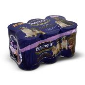 LOUTH SPCA DONATION - Butchers Gluten Free Wet Dog Food Tins - Country Stews In Gravy (6 X 400g)