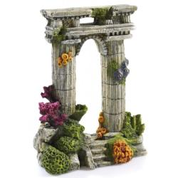 Classic Twin Column Ruin Aquatic Ornament