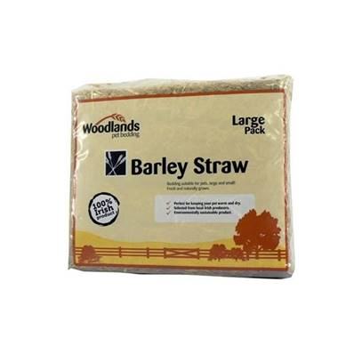 Woodlands Large Barley Straw 2.1kg