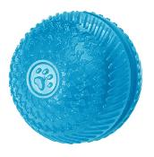 Gor Flex Squeak &Treat Ball (8cm) Blue/Red