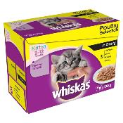 PHIBSBORO CAT RESCUE DONATION - Whiskas Kitten Pouch Multipack 12x100g
