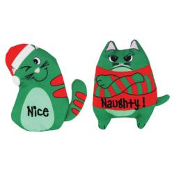Kong Holiday Catnip Refillables Purrsonality - Assorted Designs