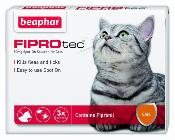 Beaphar Fiprotec For Cats 4 Treatment Pack