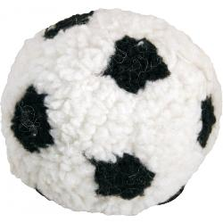 James Steel Plush Berber Football With Squeaker Small