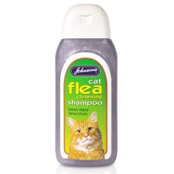 Johnson's Cat Flea Cleansing Herbal Shampoo
