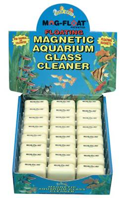 Fish R Fun Floating Magnetic Glass Cleaner-Mini